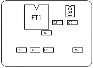 K-line сборочный чертеж — Нижняя сторона