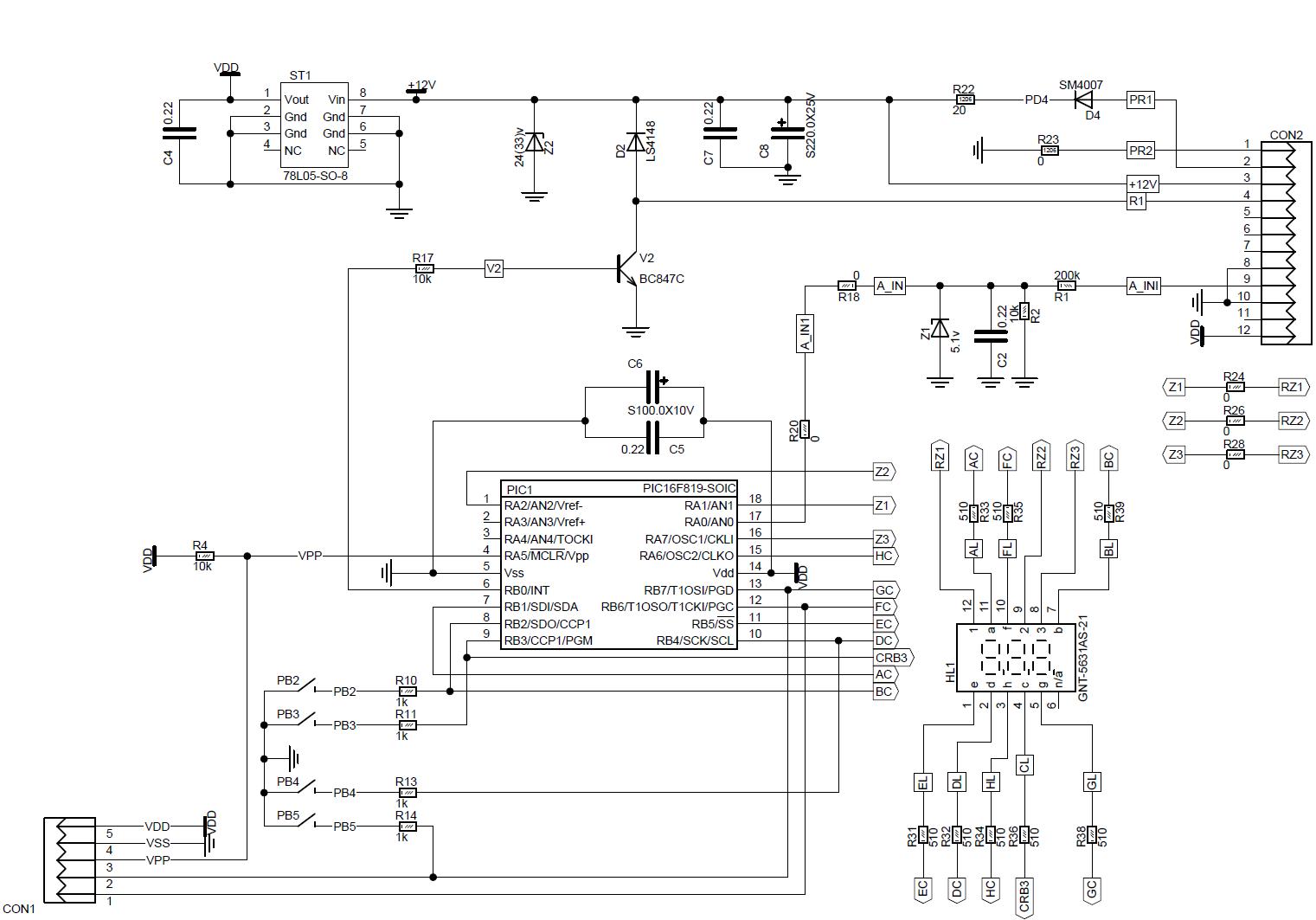 схема принципиальная cdv-35h commax