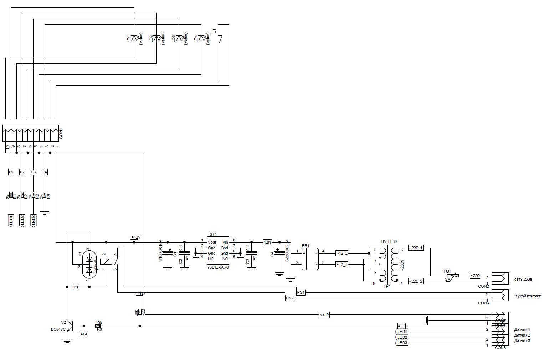 ch-c0040psb_schem_B01 Схема V1.0
