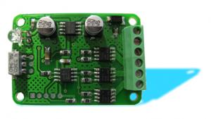 Вид собранного RGB - контроллера для светодиодов.