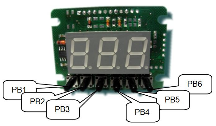 Описание клавиш управления и индикации спидометра