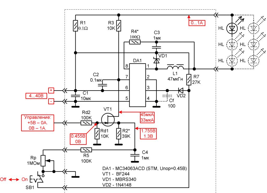 Способы регулировки тока пока